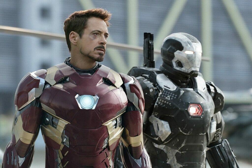 Black Widow Tony Stark Cameo The Nerdy Basement