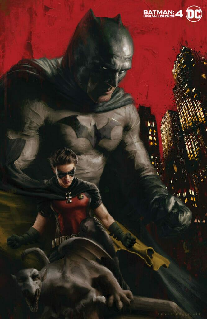 Camrus Johnson Batman Urban Legends The Nerdy Basement
