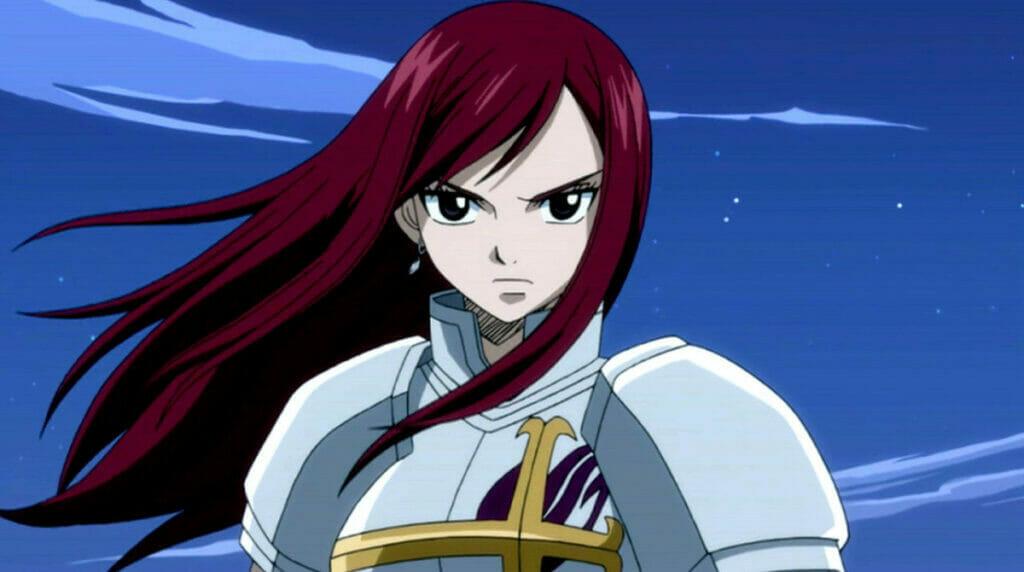 Erza Scarlet Fairy Tail Badass Women In Anime The Nerdy Basement