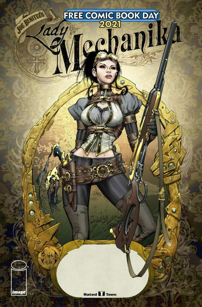 Lady Mechanika Free Comic Book Day The Nerdy Basement