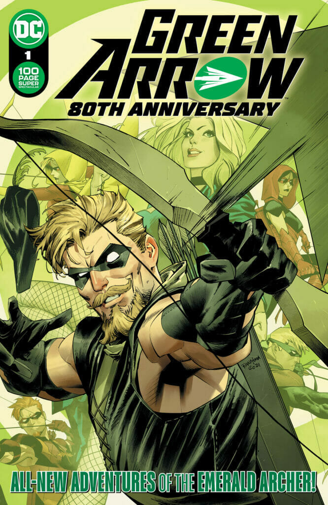 Green Arrow 80th Anniversary The Nerdy Basement