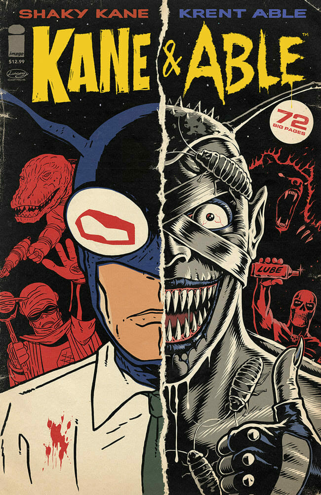 Kane and Able Image Comics The Nerdy Basement