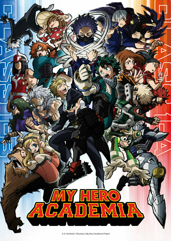 My Hero Academia Season 5 Funimation The Nerdy Basement