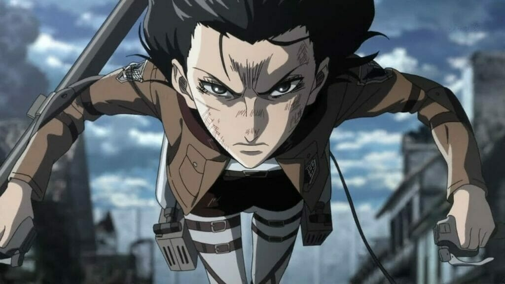 Mikasa Ackerman Attack On Titan Badass Women In Anime The Nerdy Basement