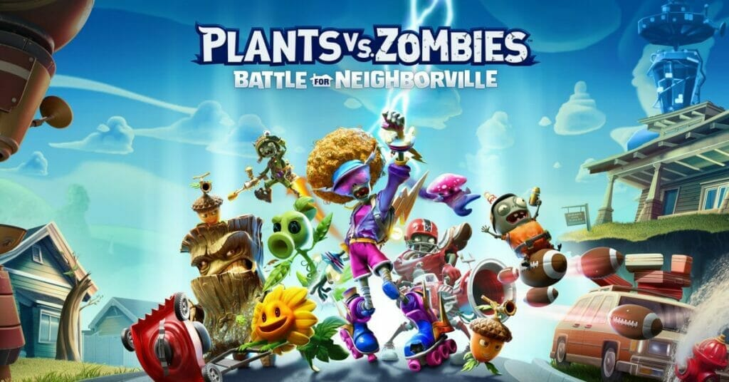 Plants vs Zombies Battle for Neighborville Complete Edition Nintendo Switch The Nerdy Basement