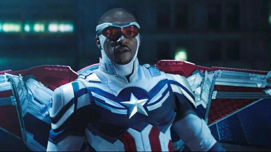Anthony Mackie as Sam Wilson/Captain America The Nerdy Basement