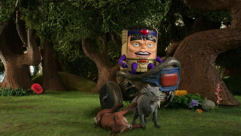 MODOK Toothghasher Toothgrinder The Nerdy Basement