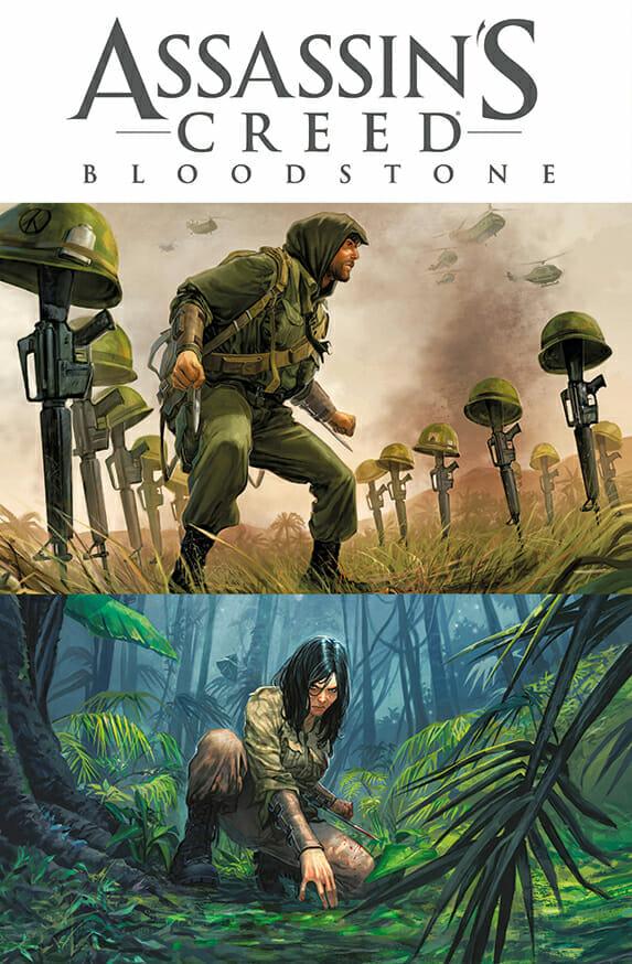Assassin's Creed Blood Stone Titan Comics September Solicitations The Nerdy Basement