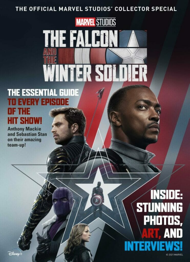 The Falcon and The Winter Soldier Titan Comics September Solicitations The Nerdy Basement