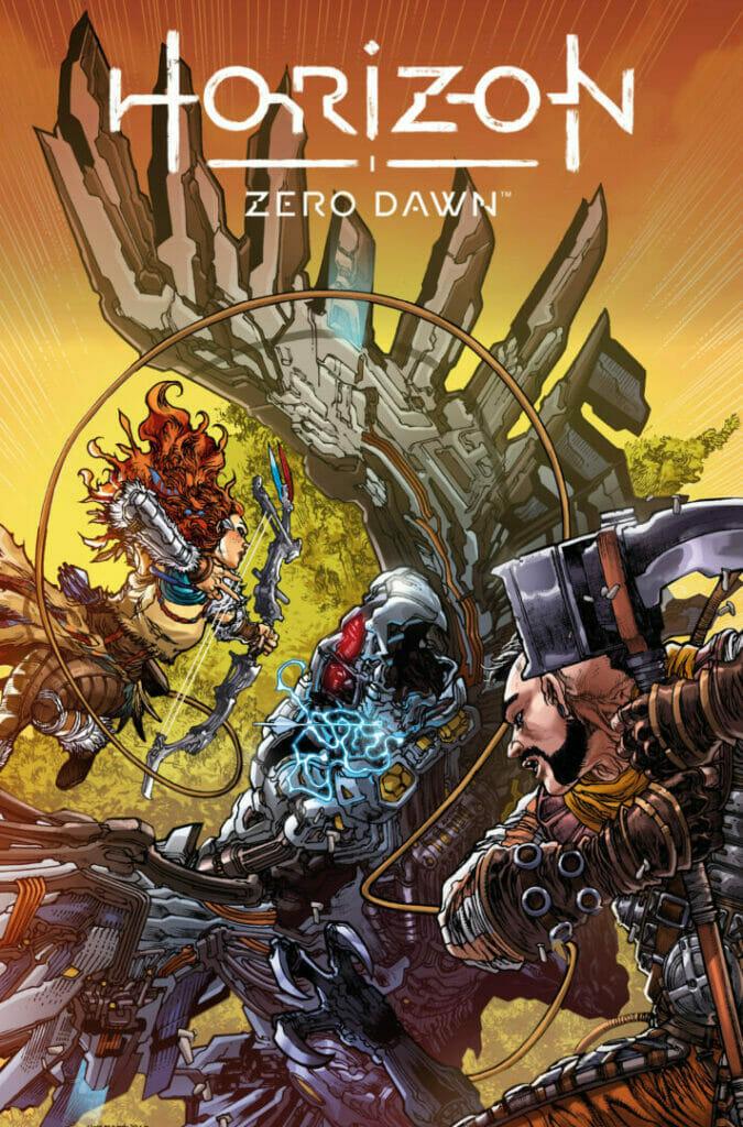 Horizon Zero Dawn Titan Comics September Solicitations The Nerdy Basement