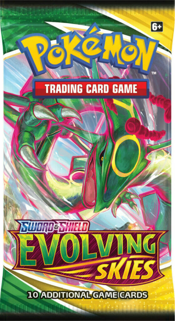 Evolving Skies Booster Pack The Nerdy Basement