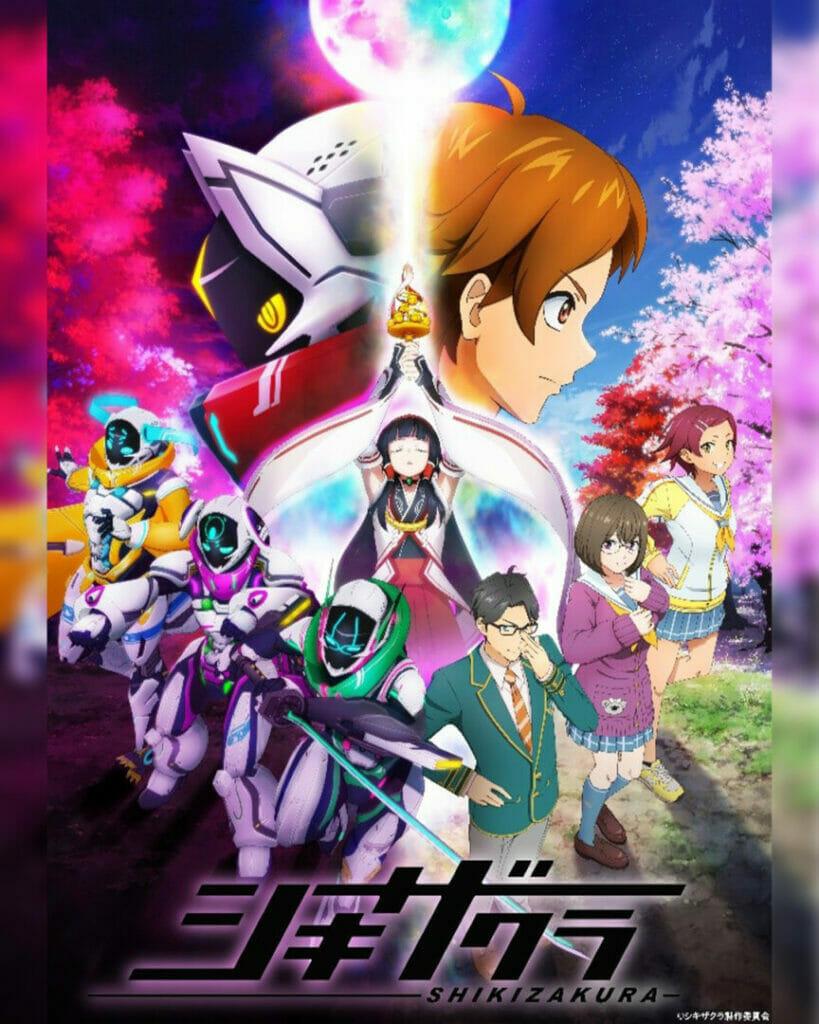 Anime Expo Lite Shikizakura Key Visual The Nerdy Basement