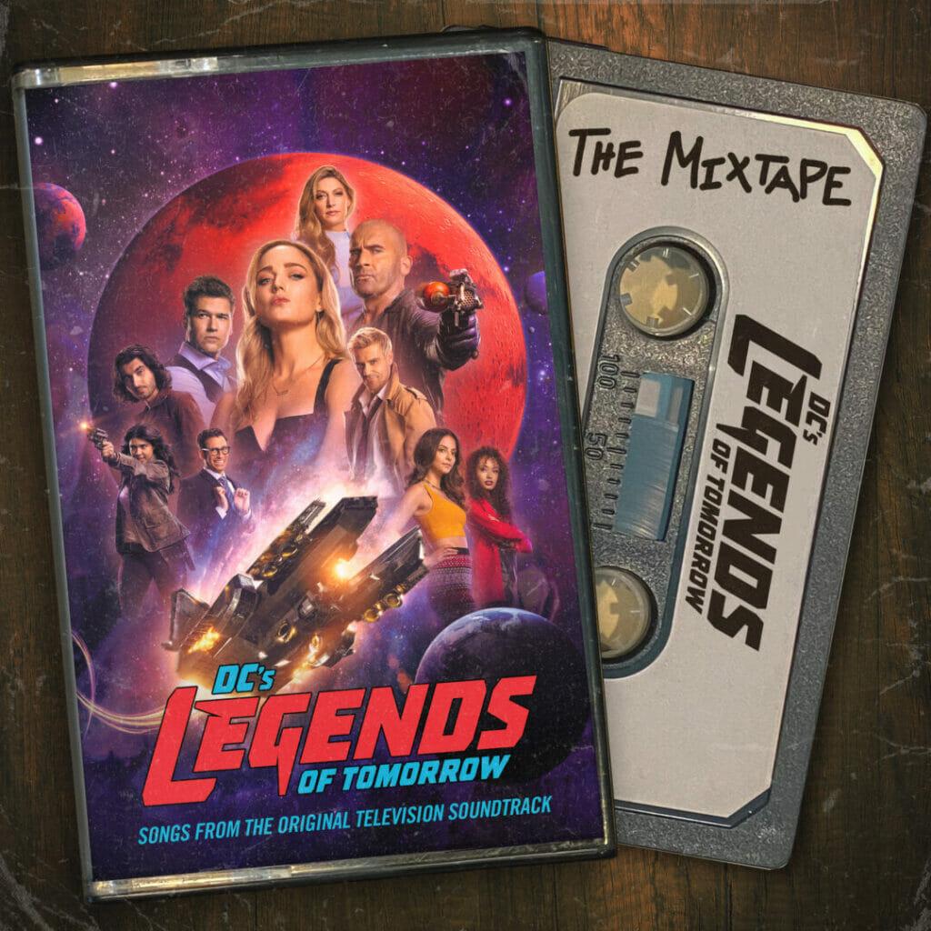 DC's Legends of Tomorrow The Mixtape The Nerdy Basement