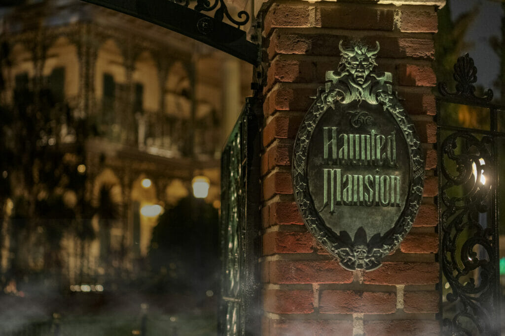 Behind the Attraction The Haunted Mansion The Nerdy Basement