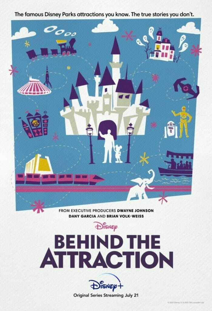Behind the Attraction Poster The Nerdy Basement