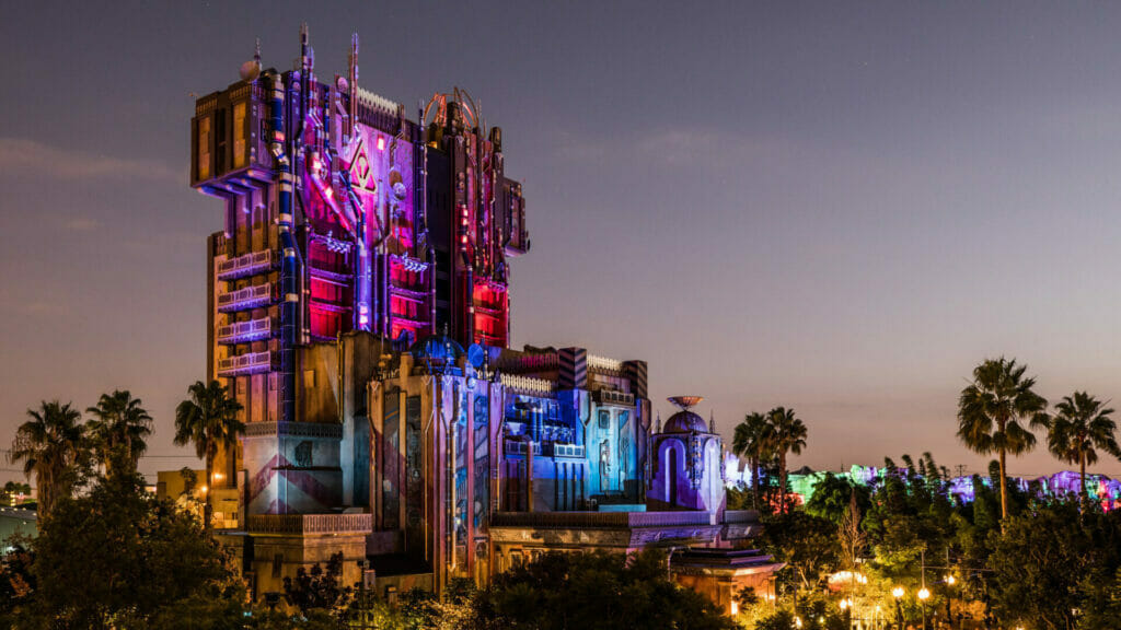 Behind the Attraction Tower of Terror The Nerdy Basement