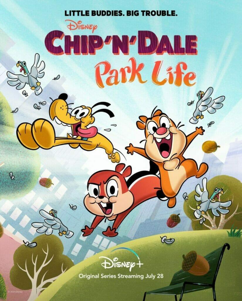 Chip 'n' Dale: Park Life Disney Plus The Nerdy Basement