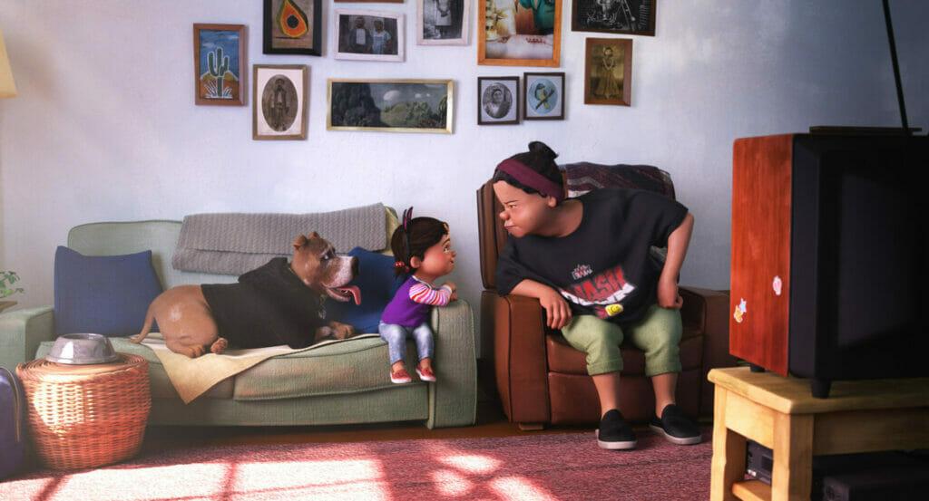Pixar SparkShort Nona Disney Plus The Nerdy Basement