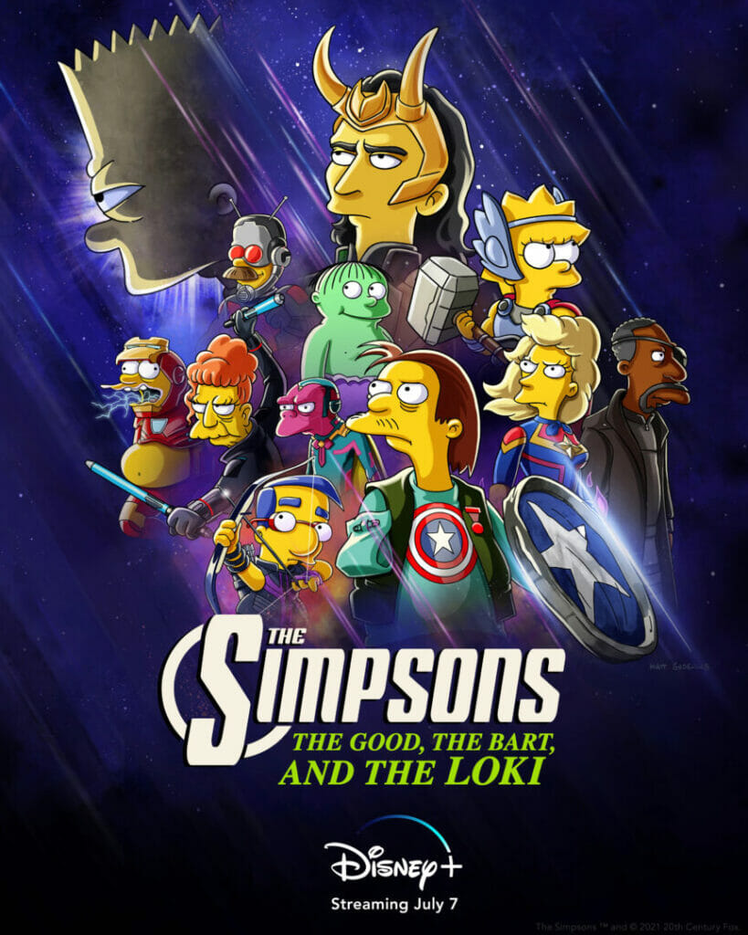 The Simpsons The Good The Bart and The Loki Disney Plus The Nerdy Basement