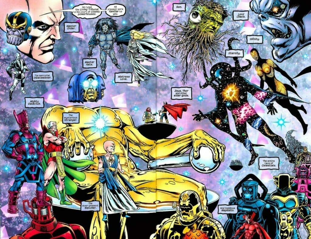 The Living Tribunal Loki Episode 5 The Nerdy Basement