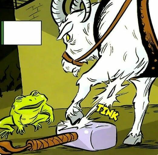 Throg Frogjolnir The Nerdy Basement
