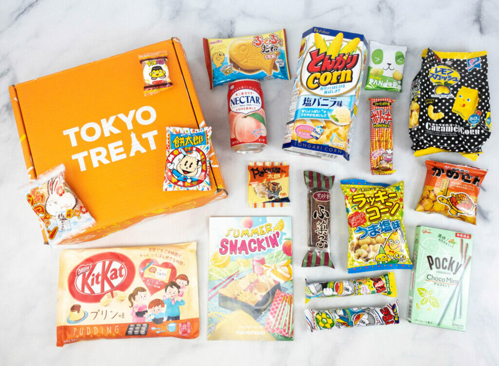 Tokyo Treat July 2021 The Nerdy Basement