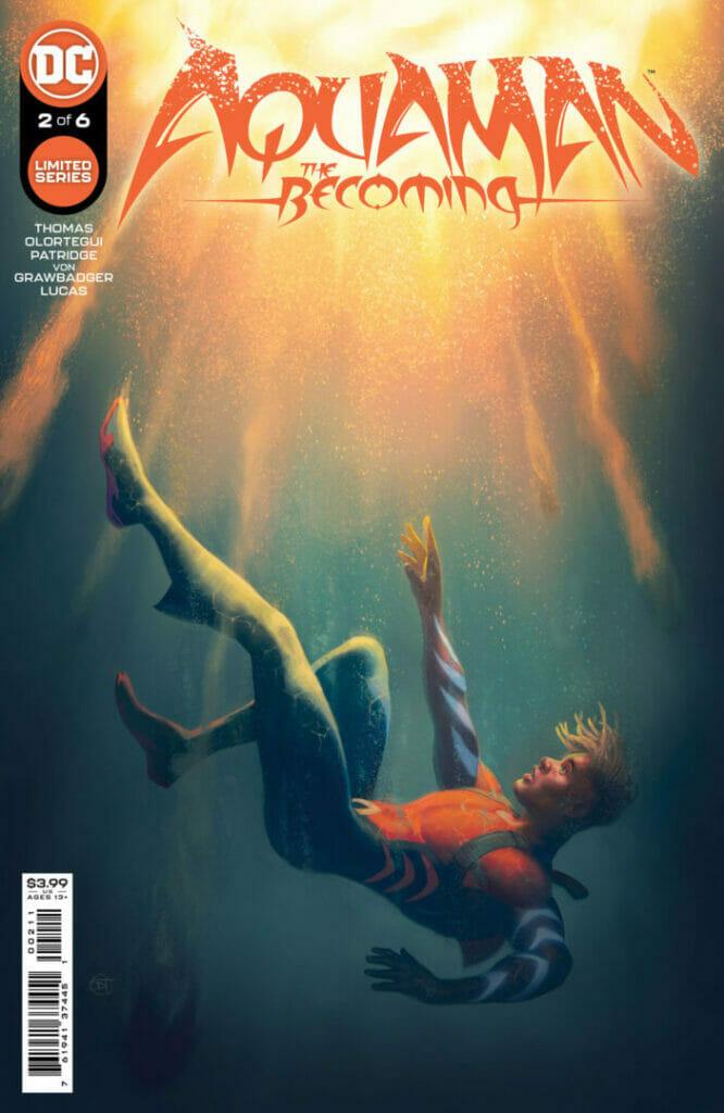 Jackson Hyde Aquaman: The Becoming #1 The Nerdy Basement