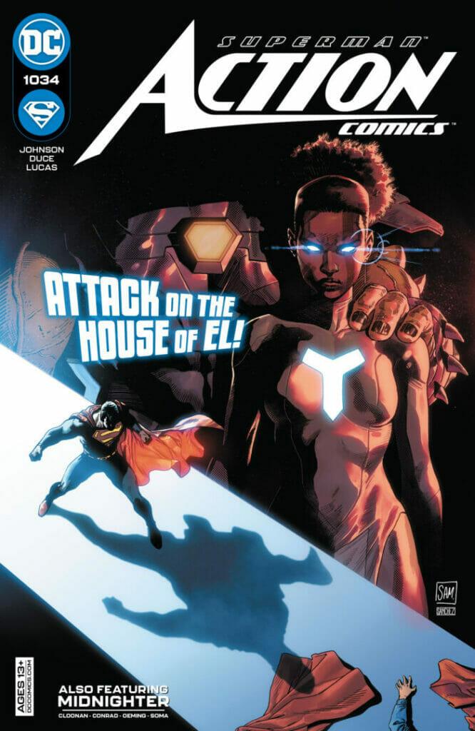Action Comics #1034 The Nerdy Basement