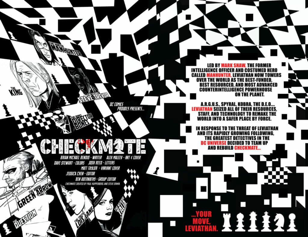 Checkmate #3 The Nerdy Basement