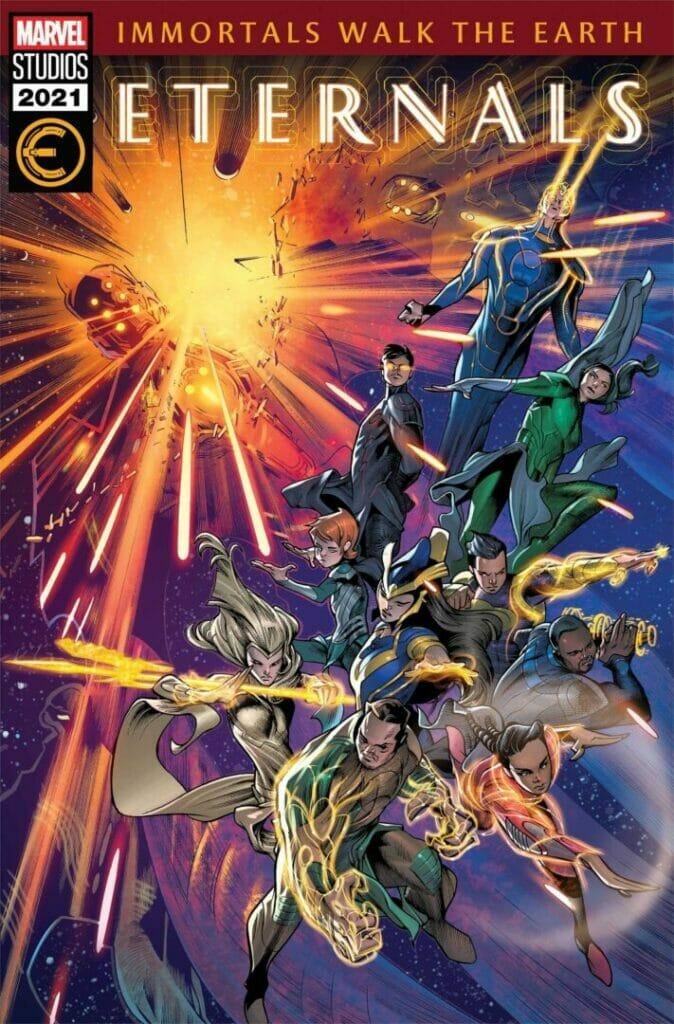 Eternals #7 MCU Variant The Nerdy Basement