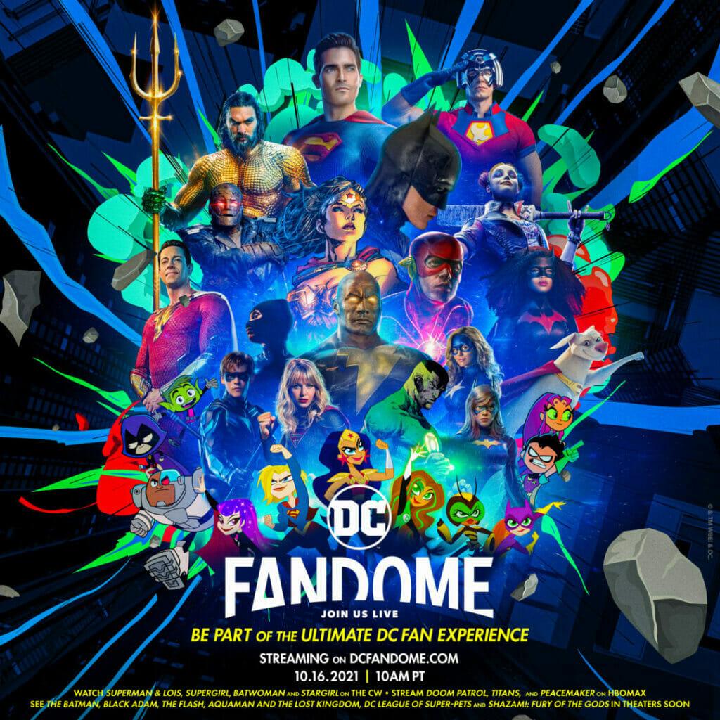 DC FanDome 2021 The Nerdy Basement