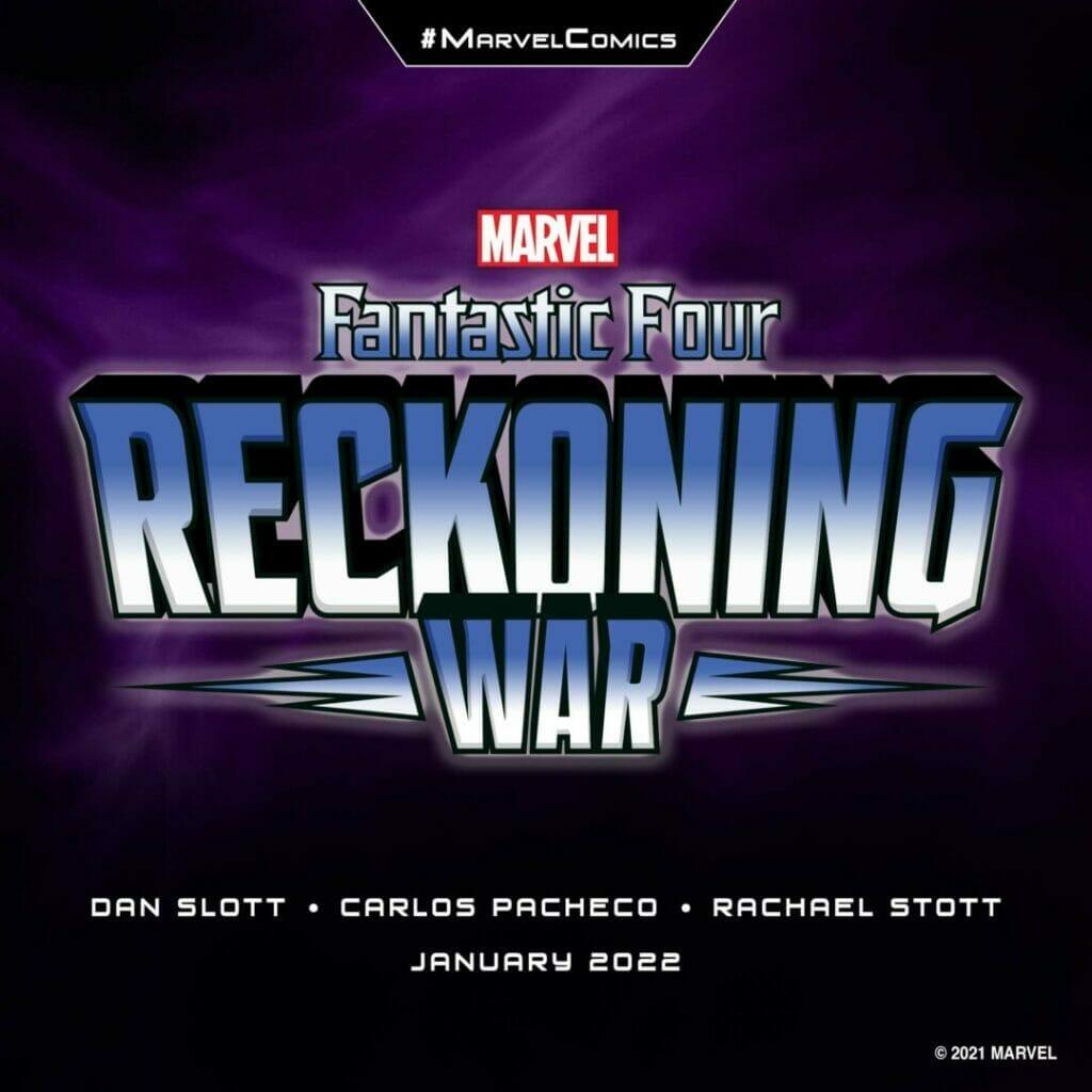 "Marvel Comics ""Fantastic Four: Reckoning War"" The Nerdy Basement"