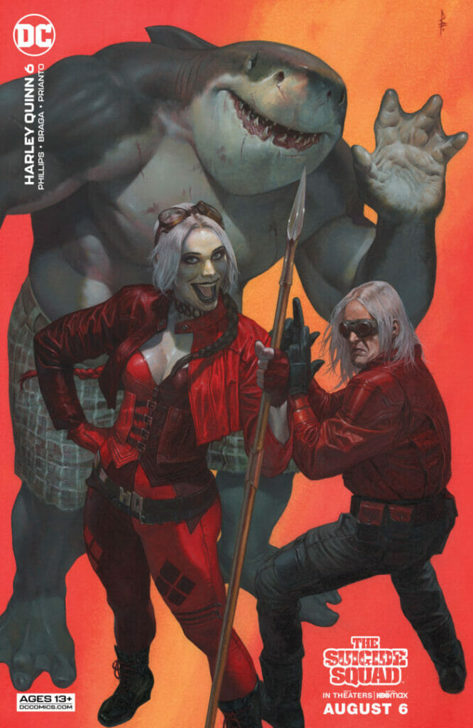 DC Comics: Harley Quinn #6 The Nerdy Basement