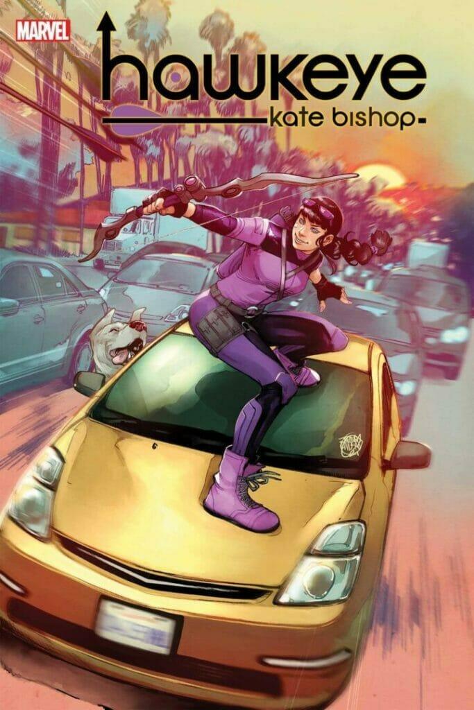 Marvel Comics Hawkeye: Kate Bishop #1 The Nerdy Basement
