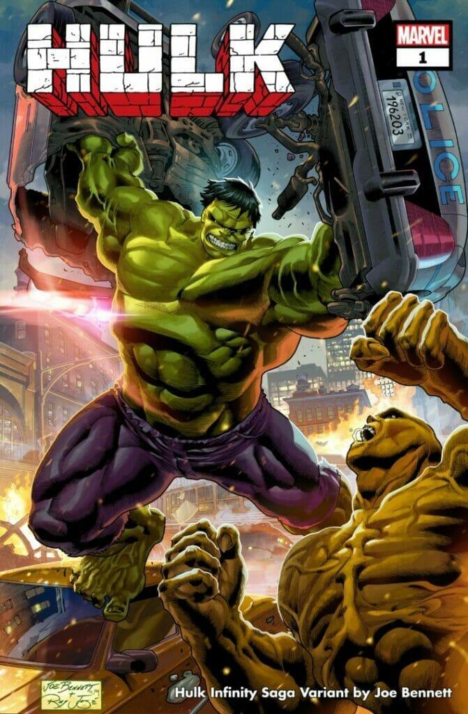 Marvel Comics Hulk Infinity Saga Variant Cover The Nerdy Basement