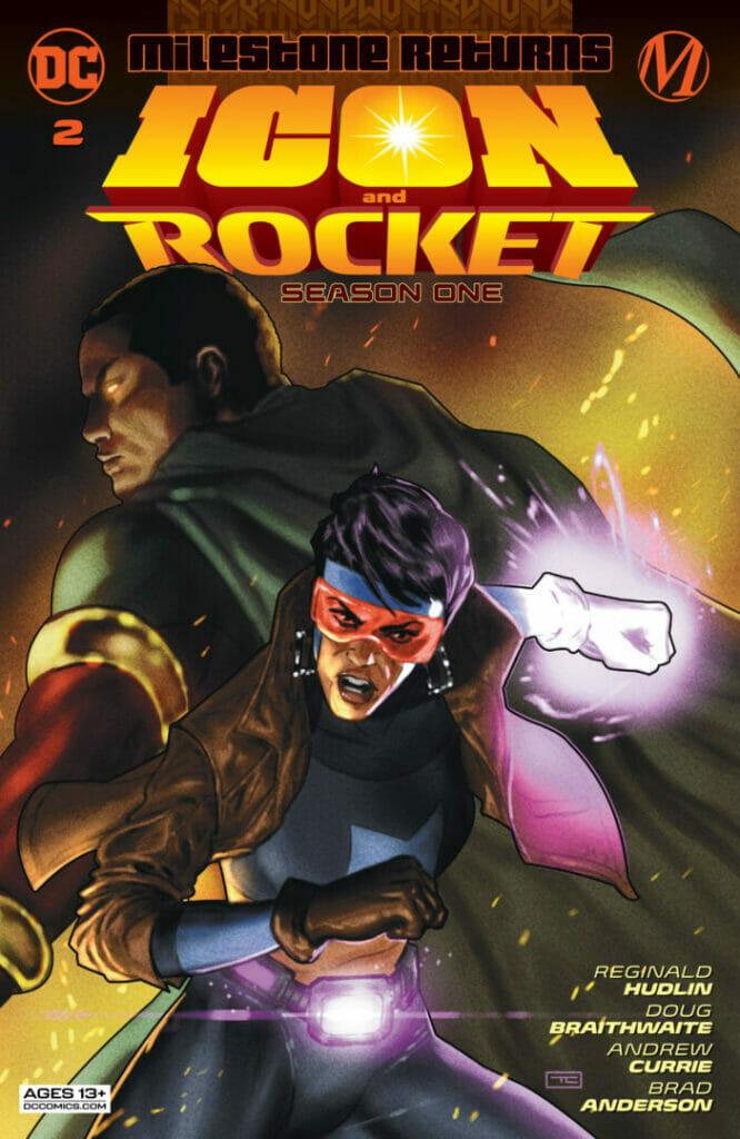 Icon and Rocket Season One #2 The Nerdy Basement