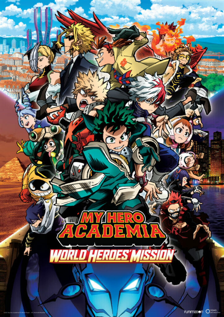 Funimation My Hero Academia: World Heroes Mission The Nerdy Basement
