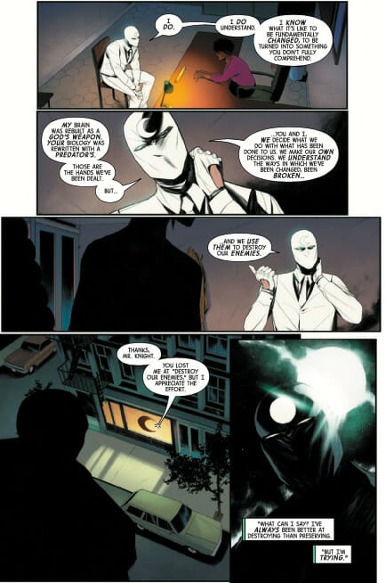 Moon Knight #2 Review The Nerdy Basement