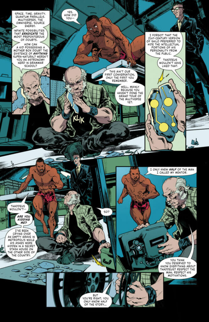 Mister Miracle: The Source of Freedom #4 The Nerdy Basement