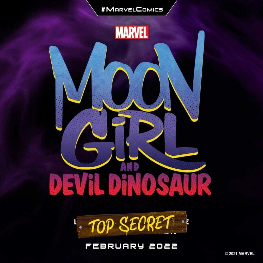 "Marvel Comics ""Moon Girl and Devil Dinosaur"" The Nerdy Basement"