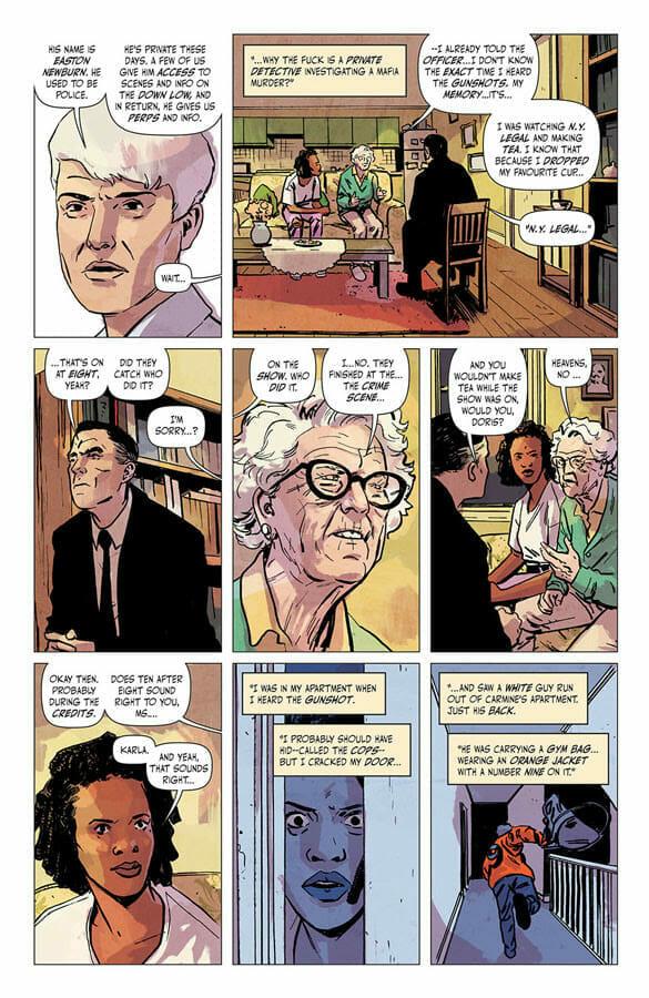 Newburn Chip Zdarsky & Jacob Phillips Image Comics The Nerdy Basement