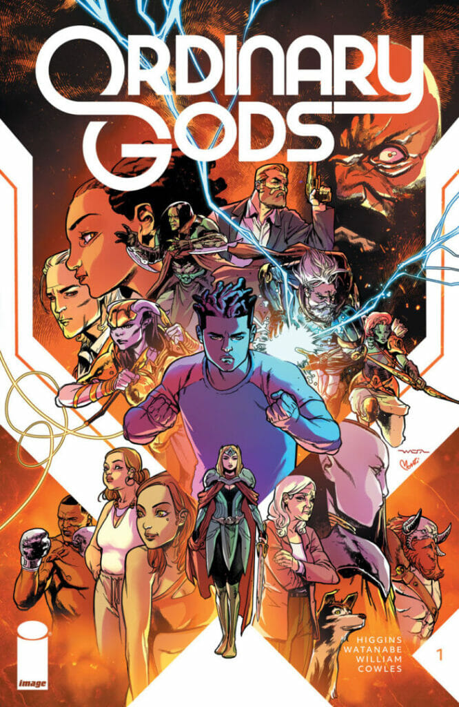 Ordinary Gods #1 by Kyle Higgins Second Printing The Nerdy Basement