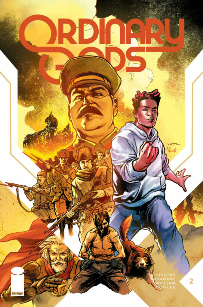 Ordinary Gods #2 by Kyle Higgins Second Printing The Nerdy Basement