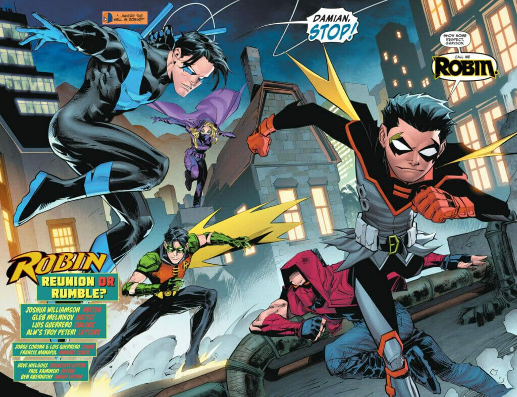 Robin #5 The Nerdy Basement