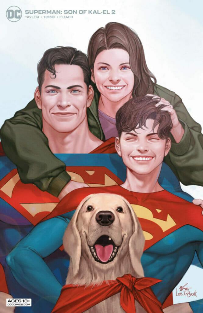 Superman: Son of Kal-El #2 The Nerdy Basement