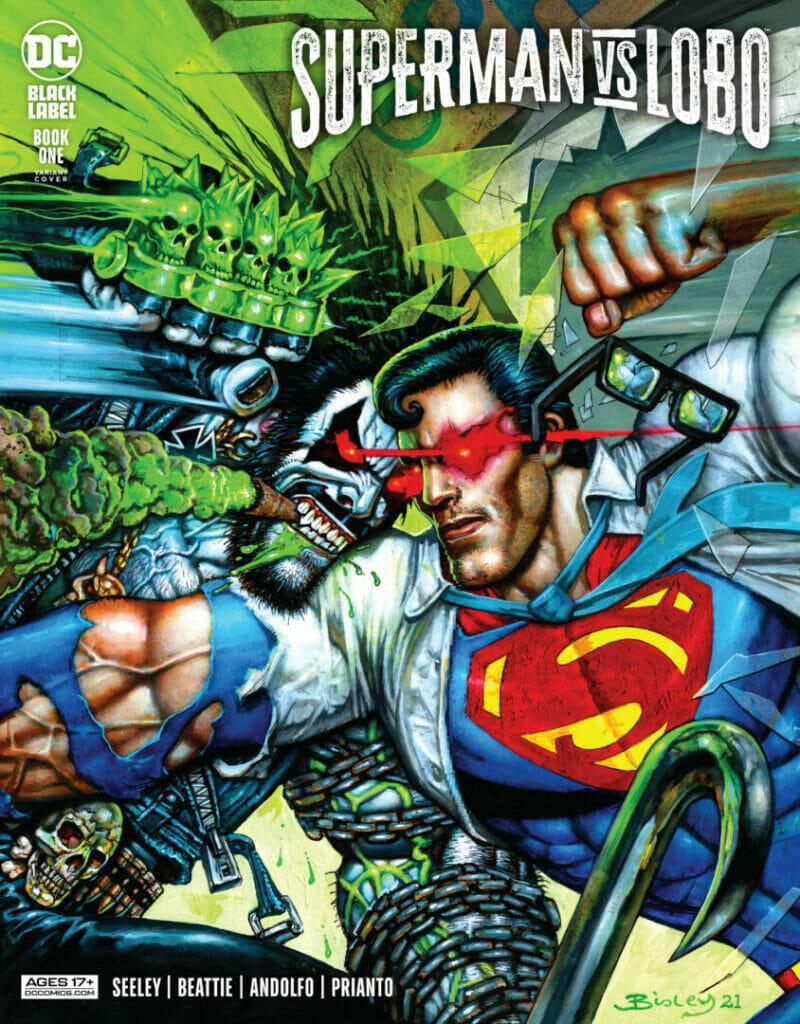 Superman vs Lobo #1 The Nerdy Basement