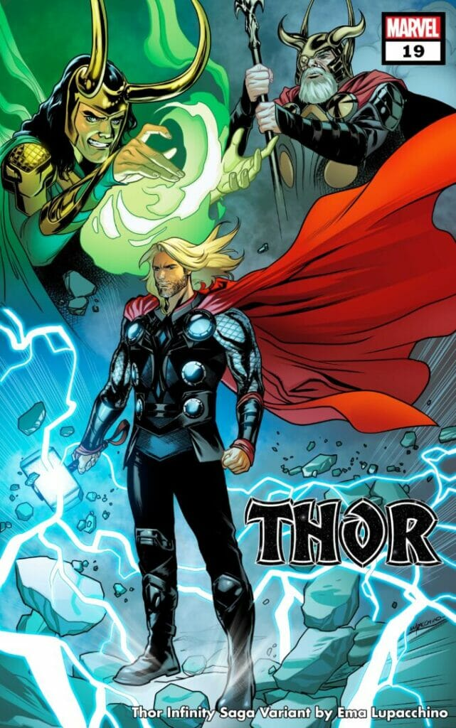 Marvel Comics Thor #19 Infinity Saga Variant Cover The Nerdy Basement