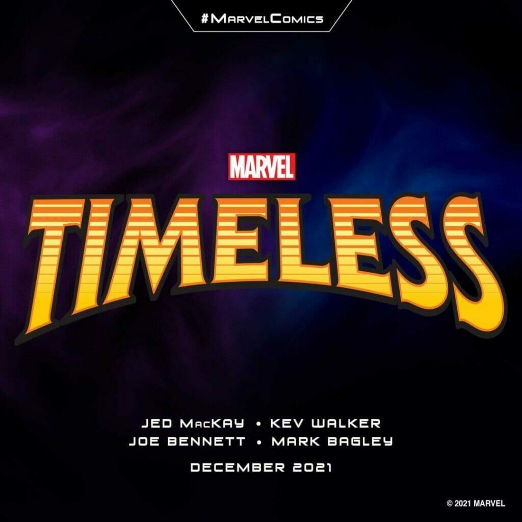 "Marvel Comics ""Timeless"" The Nerdy Basement"