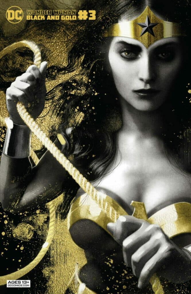 Wonder Woman: Black and Gold #3 The Nerdy Basement