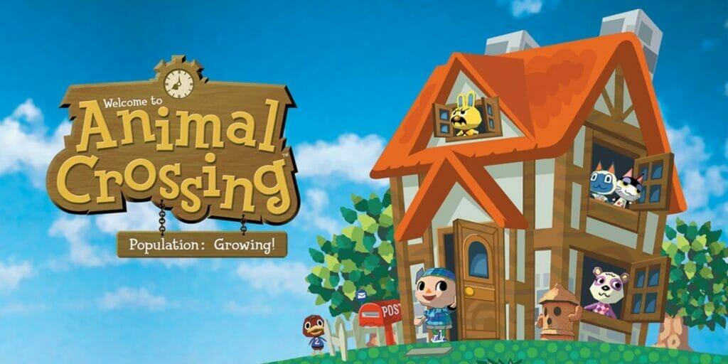 Animal Crossing Nintendo GameCube The Nerdy Basement